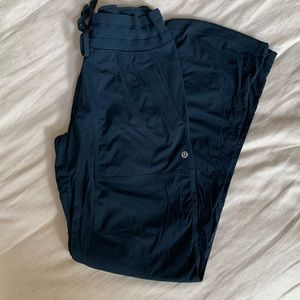 Lululemon DANCE STUDIO PANT, SZ 6, NOCTURNAL TEAL